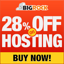 Bigrock 28% off Web Hosting & Reseller Hosting Coupon