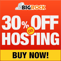 Bigrock Web Hosting Coupon Code October 2013