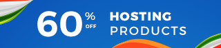 60% OFF On Hosting
